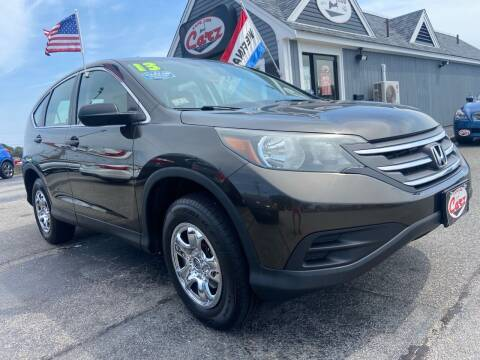 2013 Honda CR-V for sale at Cape Cod Carz in Hyannis MA