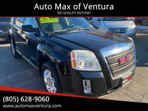 2012 GMC Terrain for sale at Auto Max of Ventura in Ventura CA
