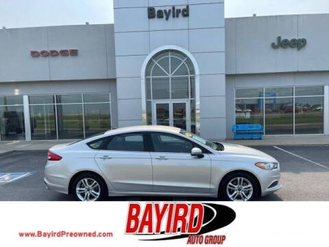 2018 Ford Fusion for sale at Bayird Truck Center in Paragould AR