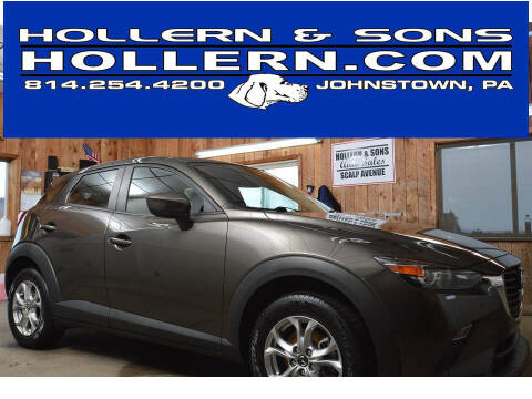 2018 Mazda CX-3 for sale at Hollern & Sons Auto Sales in Johnstown PA