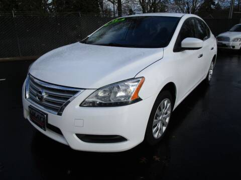 2015 Nissan Sentra for sale at LULAY'S CAR CONNECTION in Salem OR