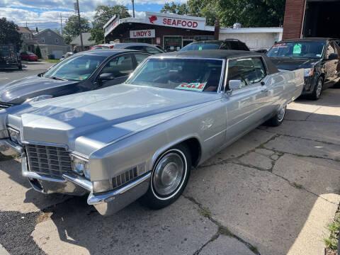 1969 Cadillac DeVille for sale at Frank's Garage in Linden NJ