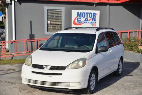 2005 Toyota Sienna for sale at Motor Car Concepts II - Colonial Location in Orlando FL