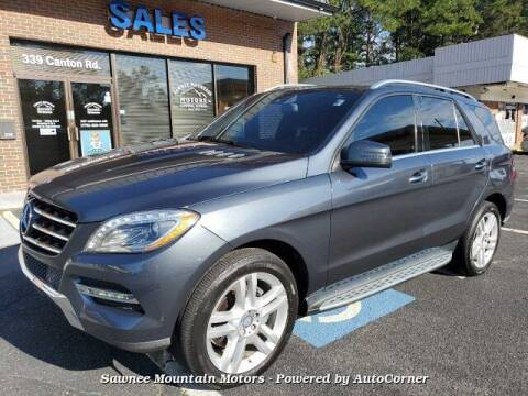 2014 Mercedes-Benz M-Class for sale at Michael D Stout in Cumming GA