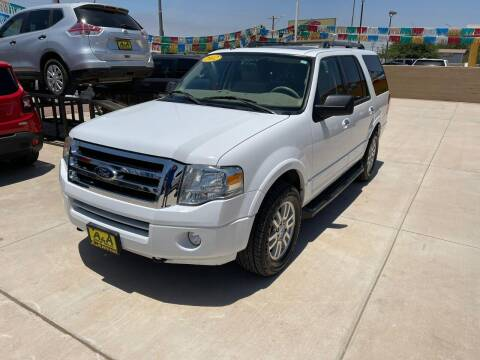 2012 Ford Expedition for sale at A AND A AUTO SALES in Gadsden AZ