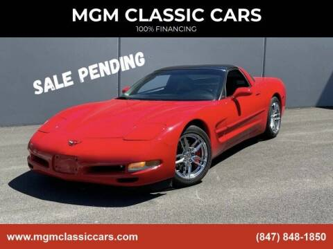 1998 Chevrolet Corvette for sale at MGM CLASSIC CARS in Addison IL