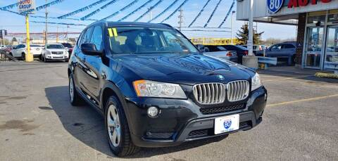2011 BMW X3 for sale at I-80 Auto Sales in Hazel Crest IL