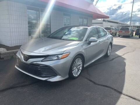 2018 Toyota Camry for sale at BORGMAN OF HOLLAND LLC in Holland MI