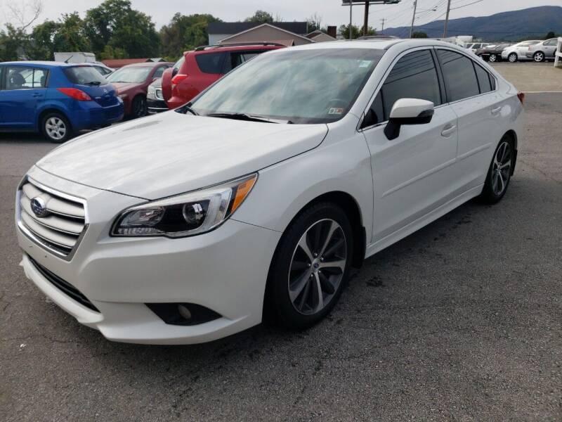 2015 Subaru Legacy for sale at Salem Auto Sales in Salem VA
