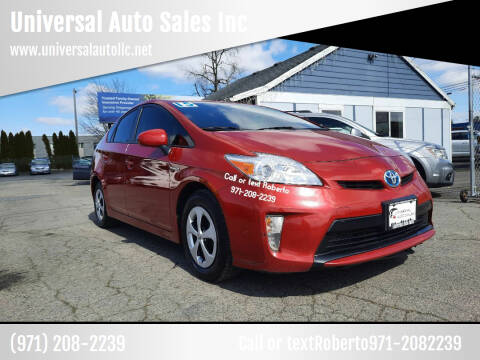 2015 Toyota Prius for sale at Universal Auto Sales Inc in Salem OR