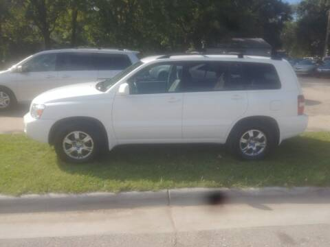 2006 Toyota Highlander for sale at D & D Auto Sales in Topeka KS