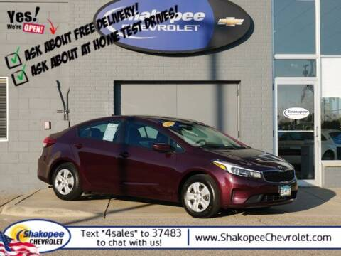 2018 Kia Forte for sale at SHAKOPEE CHEVROLET in Shakopee MN