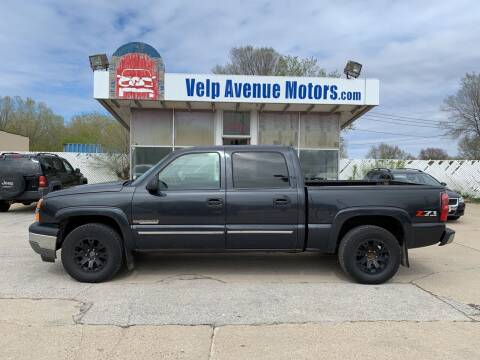 2005 Chevrolet Silverado 1500 for sale at Velp Avenue Motors LLC in Green Bay WI