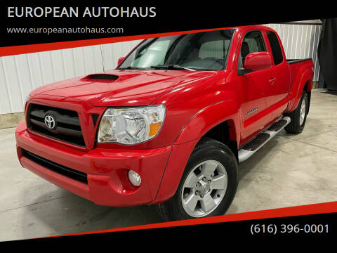 2007 Toyota Tacoma for sale at EUROPEAN AUTOHAUS in Holland MI