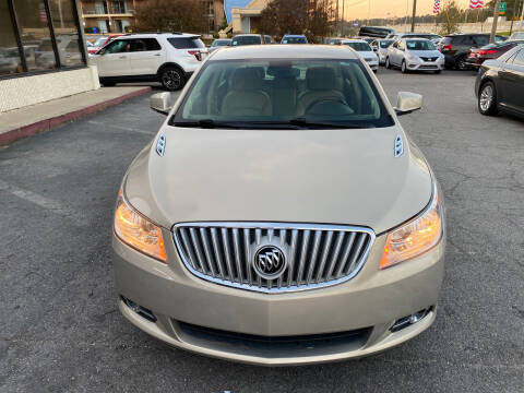 2010 Buick LaCrosse for sale at J Franklin Auto Sales in Macon GA
