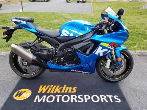 2015 Suzuki GSX-R750 for sale at WILKINS MOTORSPORTS in Brewster NY