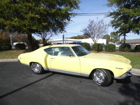 1969 Chevrolet Malibu for sale at Carolina Classics & More in Thomasville NC