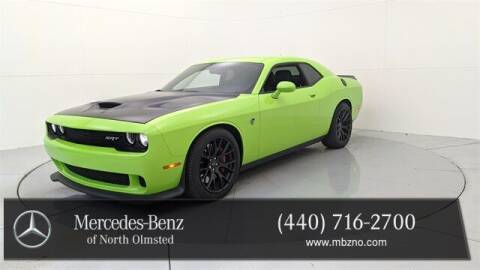 2015 Dodge Challenger for sale at Mercedes-Benz of North Olmsted in North Olmstead OH