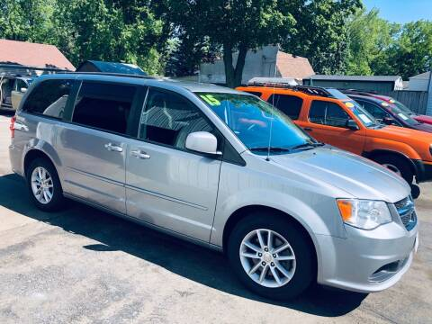 2015 Dodge Grand Caravan for sale at SHEFFIELD MOTORS INC in Kenosha WI