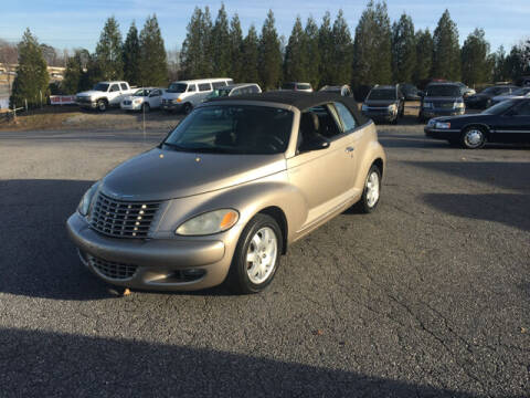 2005 Chrysler PT Cruiser for sale at Hillside Motors Inc. in Hickory NC
