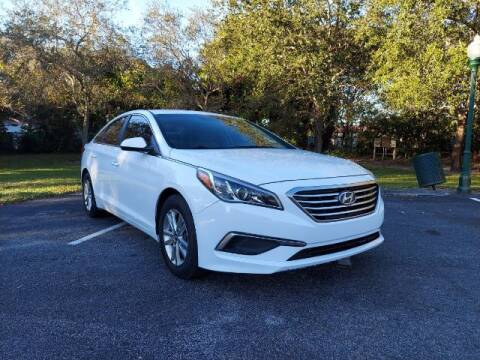 2017 Hyundai Sonata for sale at Start Auto Liquidation Center in Miramar FL