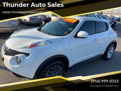 2013 Nissan JUKE for sale at Thunder Auto Sales in Sacramento CA