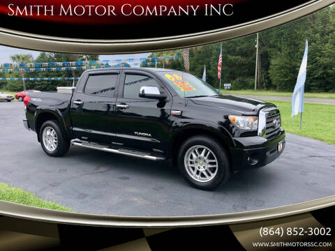 2008 Toyota Tundra for sale at Smith Motor Company INC in Mc Cormick SC