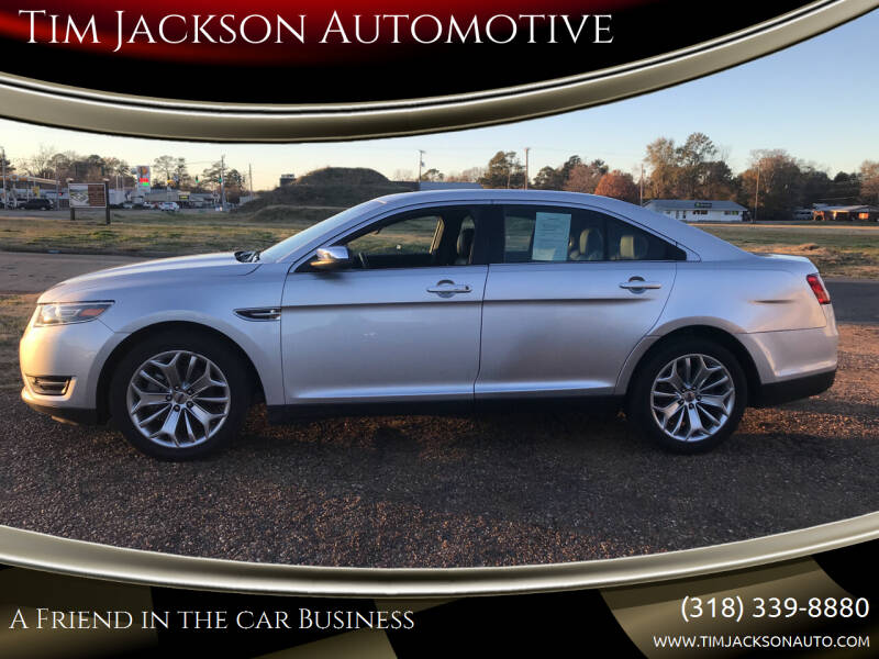 2019 Ford Taurus for sale at Tim Jackson Automotive in Jonesville LA
