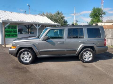 2007 Jeep Commander for sale at Auto Pro Inc in Fort Wayne IN