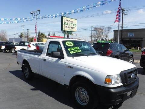 2006 Ford Ranger for sale at HILMAR AUTO DEPOT INC. in Hilmar CA