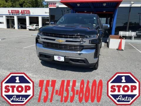 2021 Chevrolet Silverado 1500 for sale at 1 Stop Auto in Norfolk VA