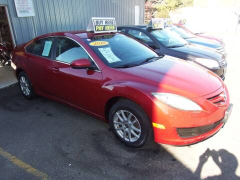 2010 Mazda MAZDA6 for sale at Fulmer Auto Cycle Sales - Fulmer Auto Sales in Easton PA