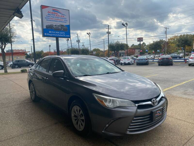 2015 Toyota Camry for sale at Magic Auto Sales in Dallas TX