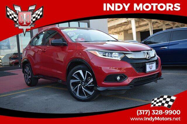 2019 Honda HR-V for sale at Indy Motors Inc in Indianapolis IN