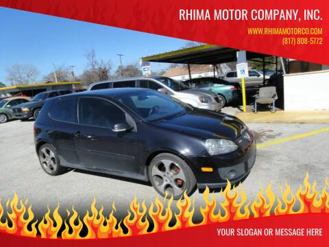 2007 Volkswagen GTI for sale at Rhima Motor Company, Inc. in Haltom City TX