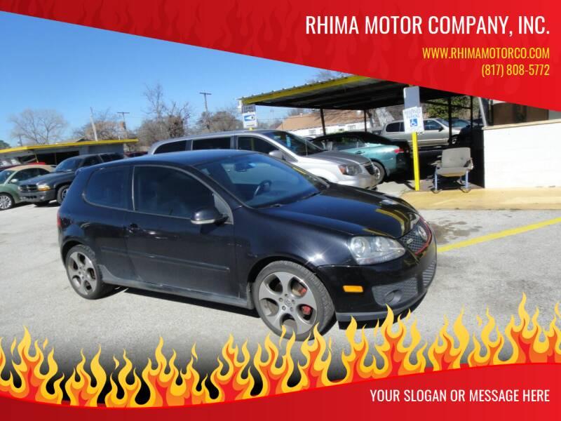 2007 Volkswagen GTI for sale at Rhima Motor Company, Inc. in Haltom City TX