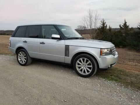 2011 Land Rover Range Rover for sale at CAVENDER MOTORS in Van Alstyne TX