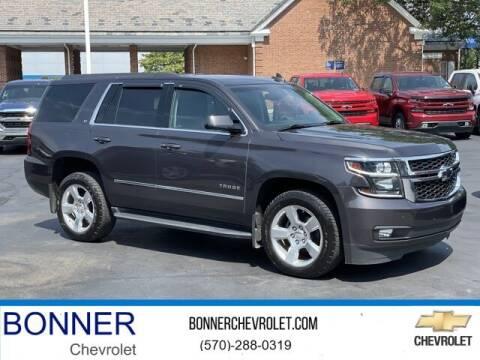 2016 Chevrolet Tahoe for sale at Bonner Chevrolet in Kingston PA