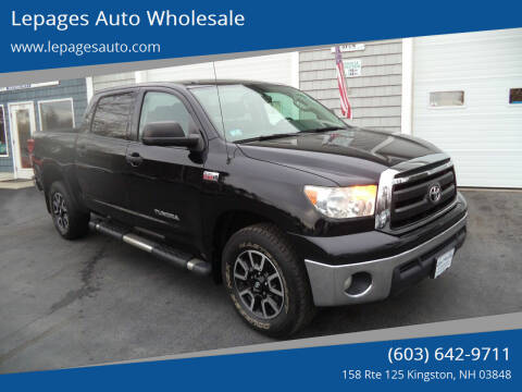 2013 Toyota Tundra for sale at Lepages Auto Wholesale in Kingston NH