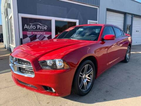 2013 Dodge Charger for sale at AutoPros - Waterloo in Waterloo IA
