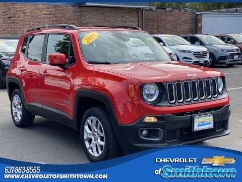 2015 Jeep Renegade for sale at CHEVROLET OF SMITHTOWN in Saint James NY
