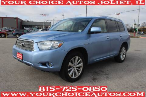 2008 Toyota Highlander Hybrid for sale at Your Choice Autos - Joliet in Joliet IL
