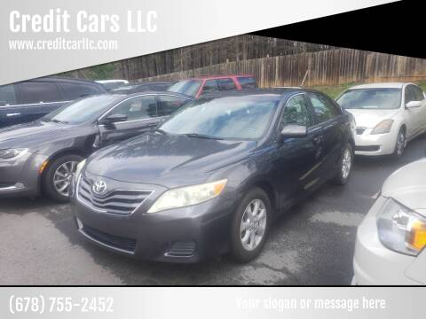 2010 Toyota Camry for sale at Credit Cars LLC in Lawrenceville GA