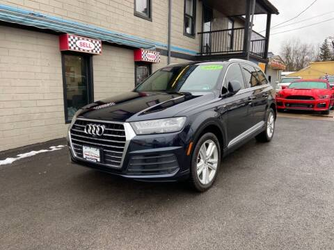 2017 Audi Q7 for sale at Sisson Pre-Owned in Uniontown PA