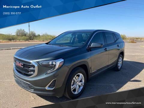 2019 GMC Terrain for sale at Maricopa Auto Outlet in Maricopa AZ
