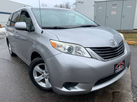 2012 Toyota Sienna for sale at JerseyMotorsInc.com in Teterboro NJ