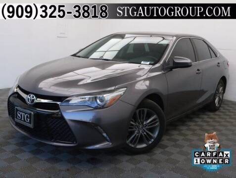 2017 Toyota Camry for sale at STG Auto Group in Montclair CA