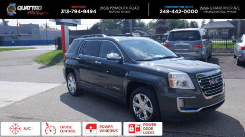 2017 GMC Terrain for sale at Quattro Motors 2 - 1 in Redford MI