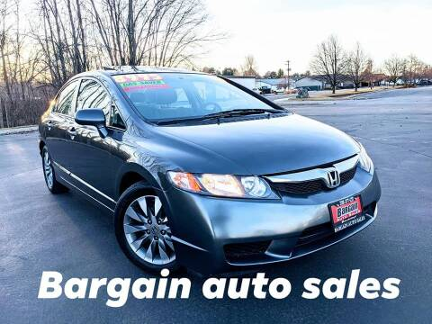 2009 Honda Civic for sale at Bargain Auto Sales LLC in Garden City ID