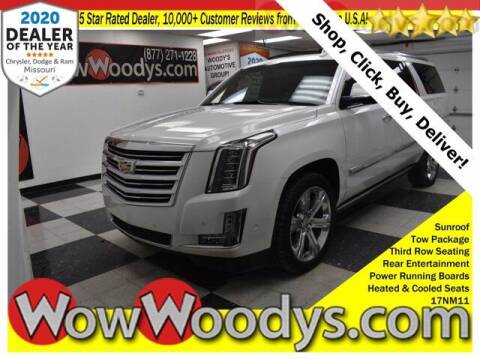 2017 Cadillac Escalade ESV for sale at WOODY'S AUTOMOTIVE GROUP in Chillicothe MO